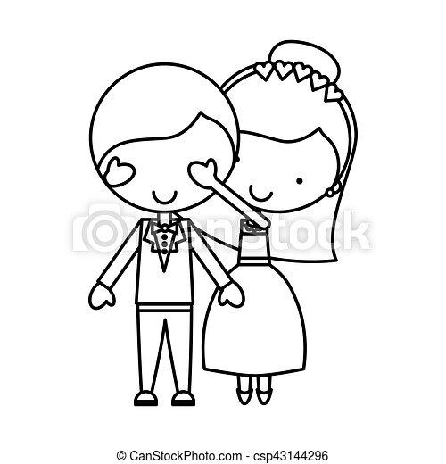 恋人, 特徴, 新婚者 - csp43144296