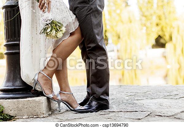 恋人, 結婚式 - csp13694790
