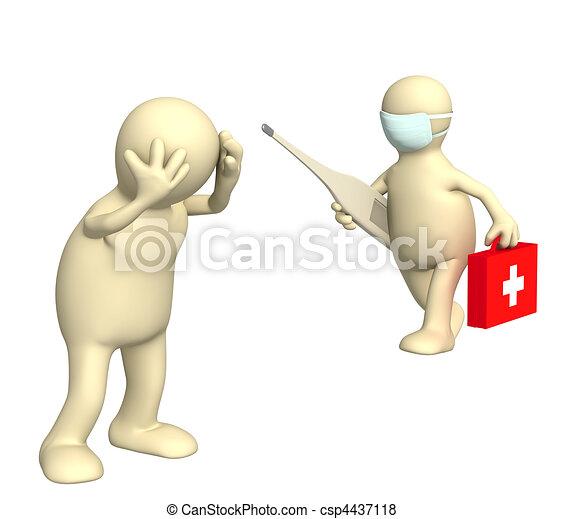 患者, 医者 - csp4437118