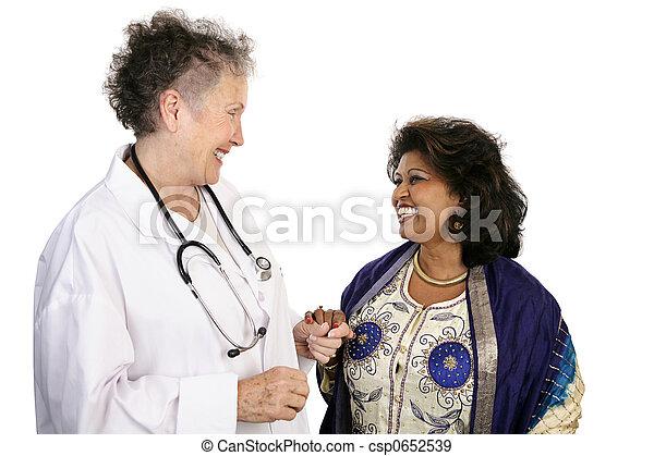 患者, 協力, 医者 - csp0652539