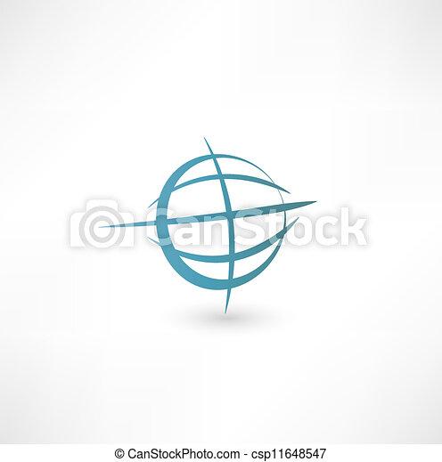 惑星地球, アイコン - csp11648547