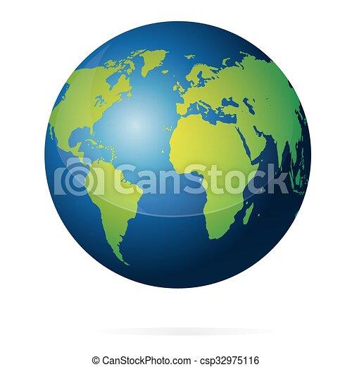 惑星地球 イラスト 青 地図 大陸 隔離された イラスト 惑星
