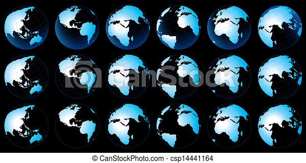 惑星地球, 地図 - csp14441164