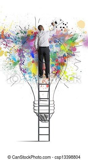 想法, 商业, 创造性 - csp13398804