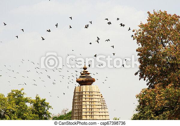 愛, 寺院, 世紀, ヒンズー教信徒, kajuraho, 第10 - csp67398736