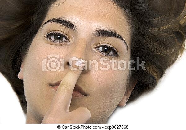 感動的である, 鼻 - csp0627668