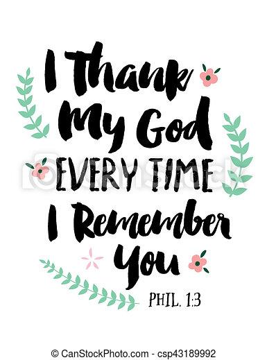 感謝しなさい, 神, あらゆる, 時間, あなた, 私, 思い出しなさい - csp43189992