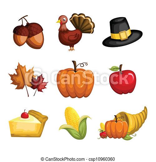 感謝祭, アイコン - csp10960360