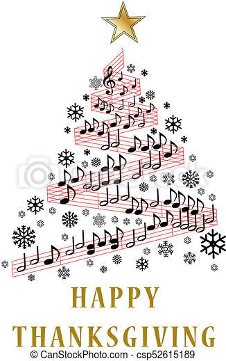 感謝祭, カード, 幸せ - csp52615189
