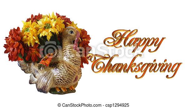 感謝祭, カード, 挨拶 - csp1294925