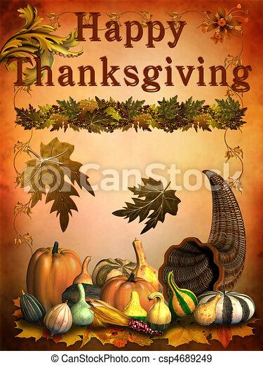 感謝祭, 幸せ - csp4689249
