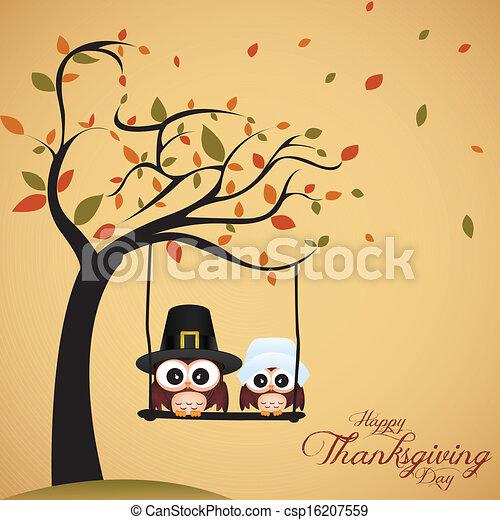 感謝祭, 日 - csp16207559