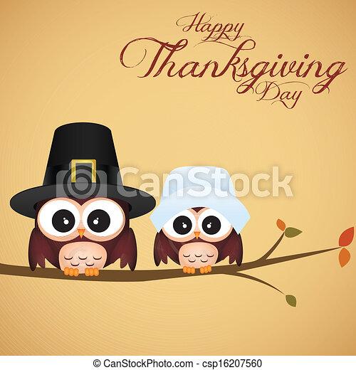 感謝祭, 日 - csp16207560