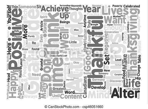 感謝, 概念, 単語, テキスト, 態度, 背景, 雲 - csp46051660