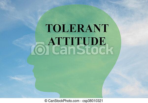 態度, 概念, 精神, 耐久性がある - csp38010321