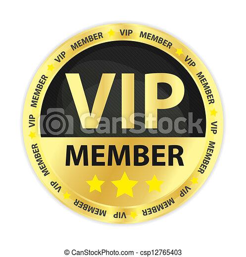 成員, 黃金, 大人物, 徽章 - csp12765403