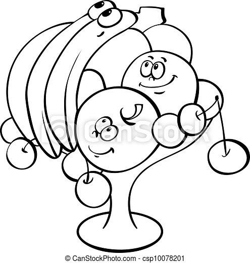 成果, 漫画, つぼ - csp10078201