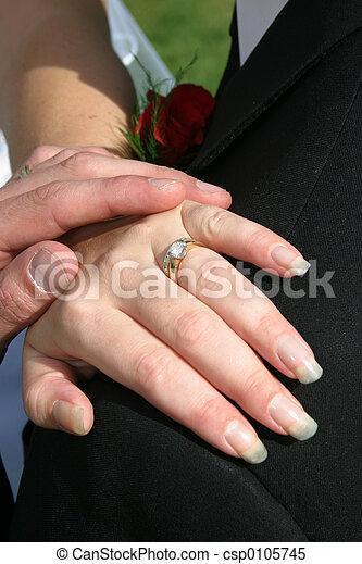 戒指, 婚禮 - csp0105745