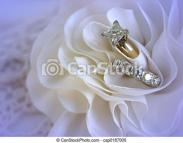 戒指, 婚禮 - csp0187005