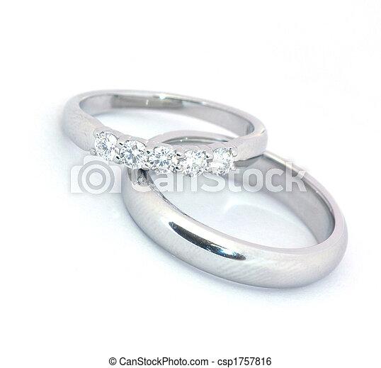 戒指, 婚禮 - csp1757816