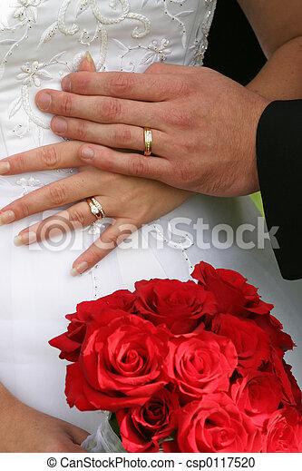 戒指, 婚禮 - csp0117520