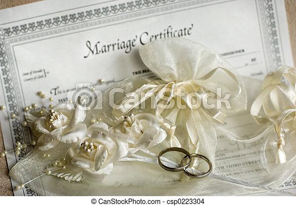 戒指, 婚禮 - csp0223304