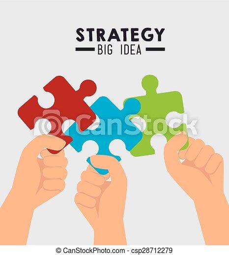 戦略上の計画, design. - csp28712279