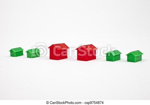房子, 住房, 财产, / - csp9754874