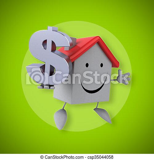 房子 - csp35044058