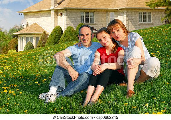 房子, 家庭 - csp0662245