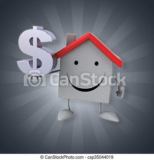 房子 - csp35044019