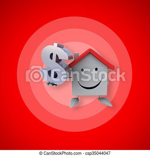 房子 - csp35044047
