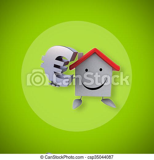 房子 - csp35044087