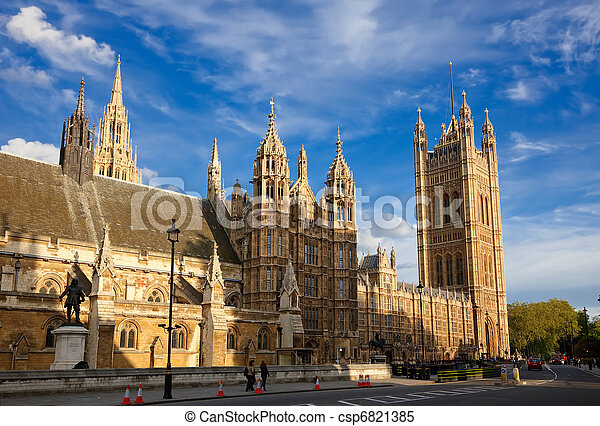 房子, 議會, 倫敦 - csp6821385