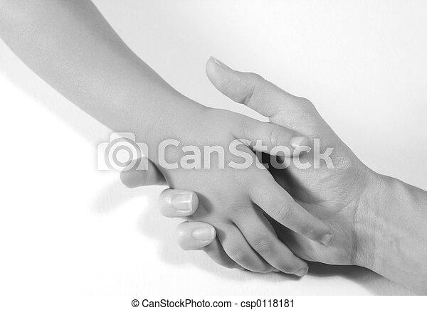 手を持つ - csp0118181