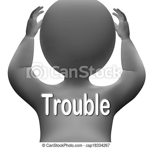 手段, 特徴, 問題, 困難, 心配する, 悩み - csp18334267