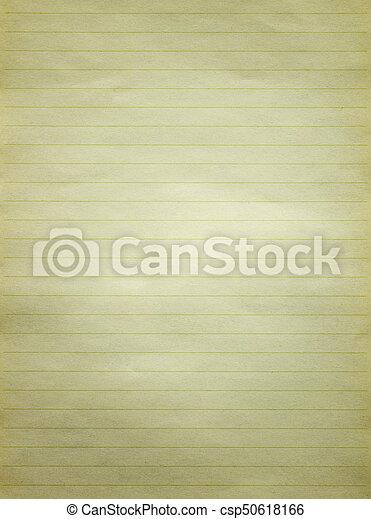 手紙, ペーパー, 古い, 手ざわり, 背景 - csp50618166