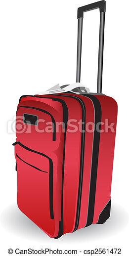 手荷物, アイコン - csp2561472