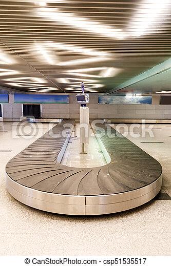 手荷物, 空港, ベルト, コンベヤー - csp51535517