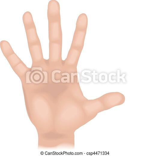 手, イラスト - csp4471334