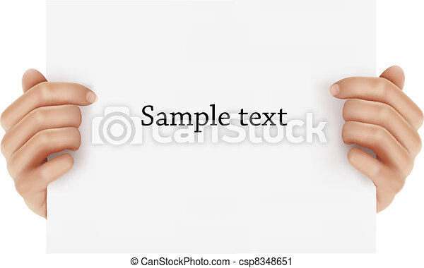 手, 保有物, ビジネス, object., 2 - csp8348651