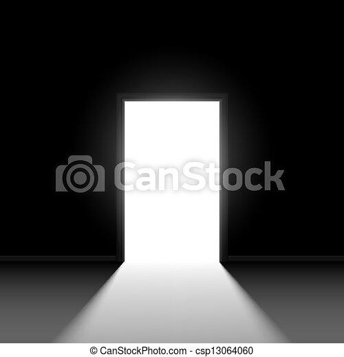 打開門 - csp13064060