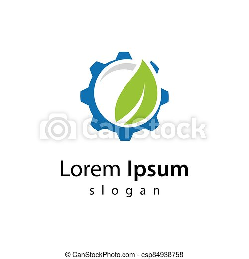 技術, デザイン, ロゴ, eco - csp84938758