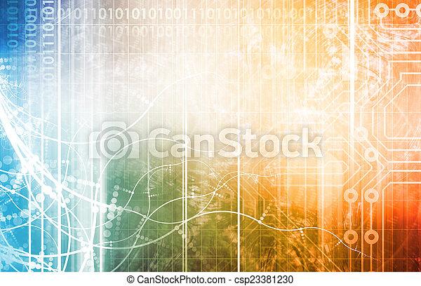 技術, 未来派 - csp23381230