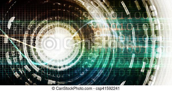 技術, 未来派 - csp41592241