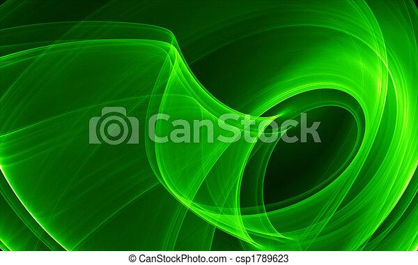 抽象概念, 緑 - csp1789623