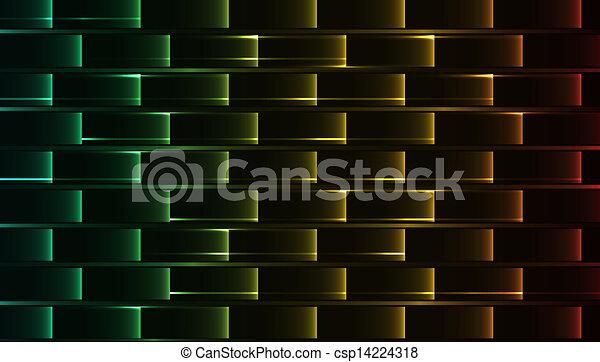 抽象概念, 鮮やか - csp14224318