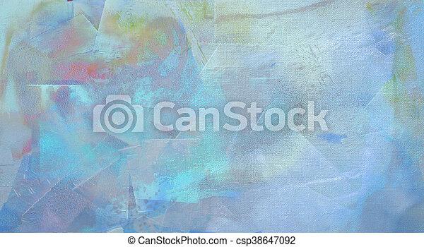 抽象的な絵 - csp38647092