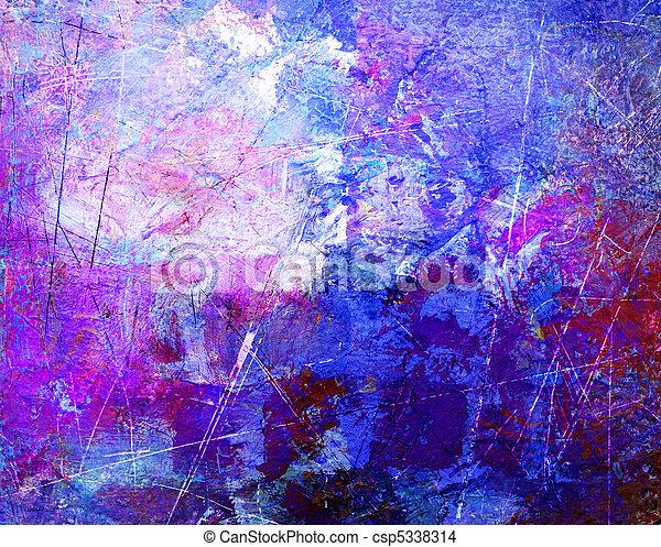 抽象的な 芸術 - csp5338314