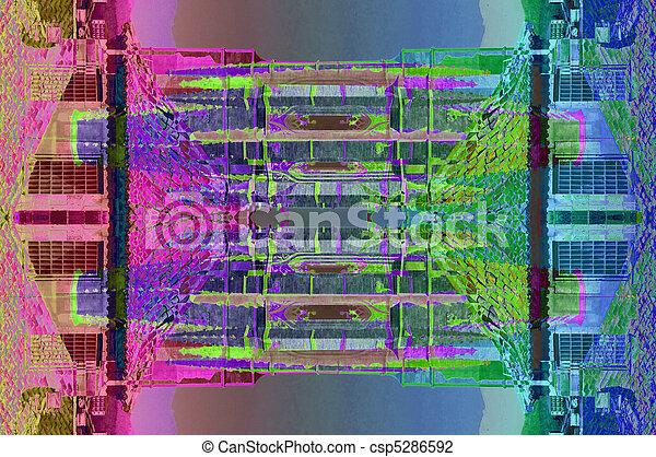 抽象的艺术 - csp5286592